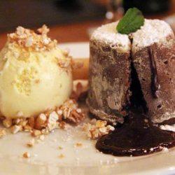 Volcán de Chocolate y Helado…